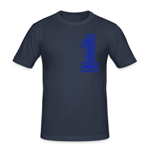 YOU ARE NUMBER 1 - Men's Slim Fit T-Shirt