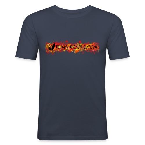 logo flamme - T-shirt près du corps Homme