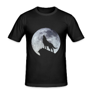Tee shirts ~ Tee shirt près du corps Homme ~ Wolf.