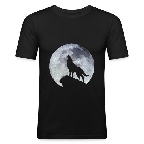Wolf. - T-shirt près du corps Homme
