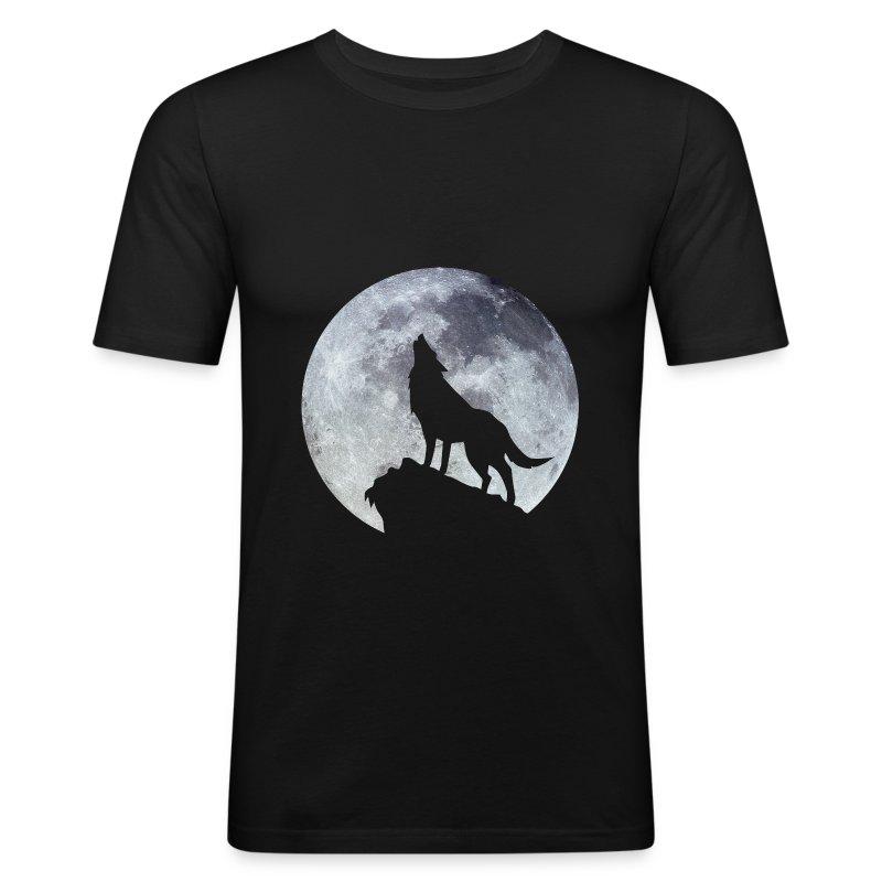 Wolf. - Tee shirt près du corps Homme