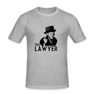 Rétro - Angry Lawyer - Tee shirt près du corps Homme
