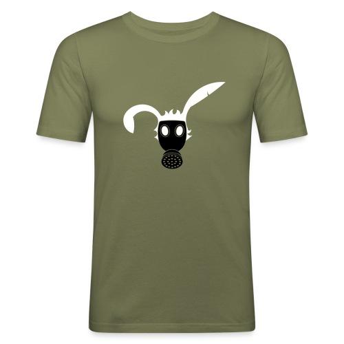 Chemical warfare bunny - Men's Slim Fit T-Shirt