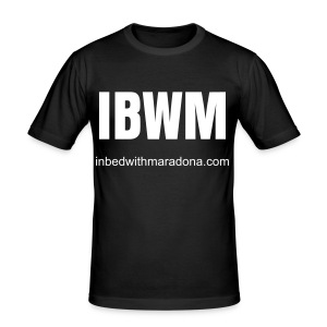 The IBWM slim tee for men - Men's Slim Fit T-Shirt