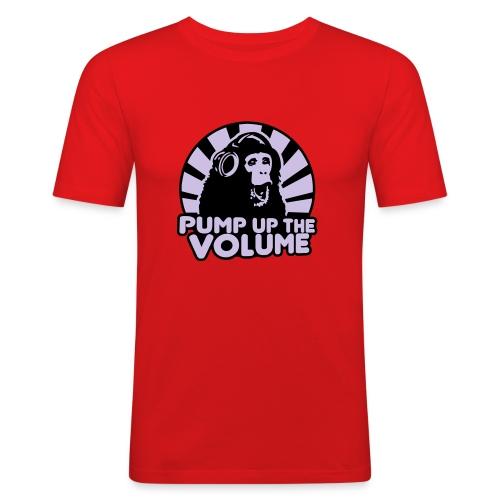Pump Up The Volume - Men's Slim Fit T-Shirt