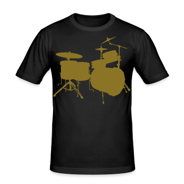 music drums drum set T-shirts