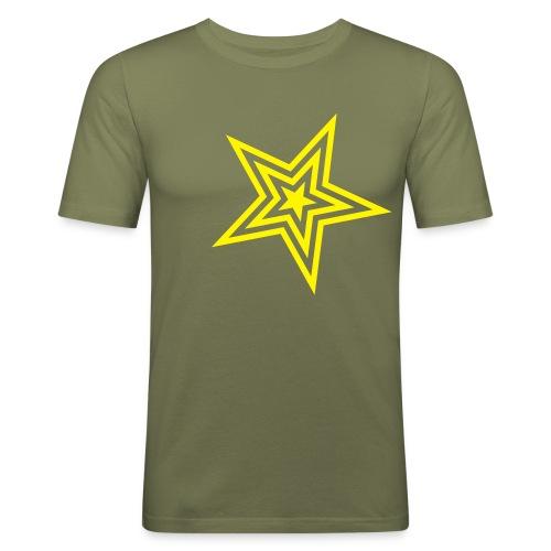 STAR - Maglietta aderente da uomo