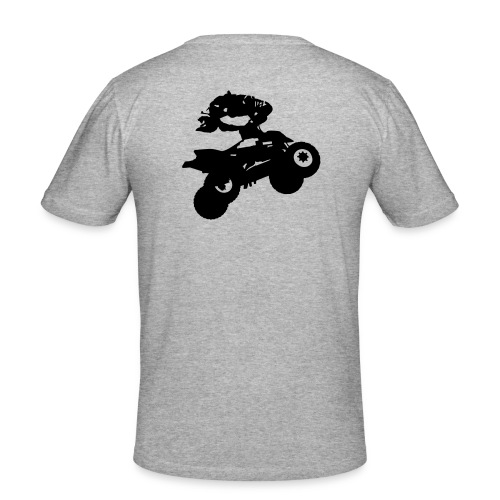 QC-La Slim - Männer Slim Fit T-Shirt