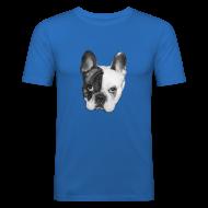 T-Shirts ~ Männer Slim Fit T-Shirt ~ Schweinehund