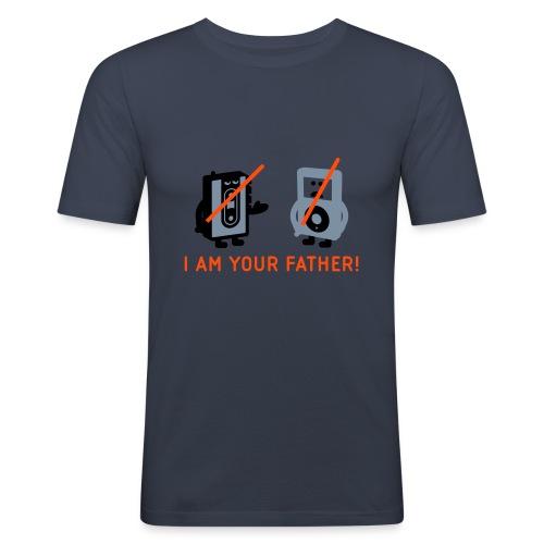 DARTH VADER VS POD - Männer T-Shirt / Slim Fit  - Männer Slim Fit T-Shirt