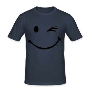 Smile - Männer Slim Fit T-Shirt