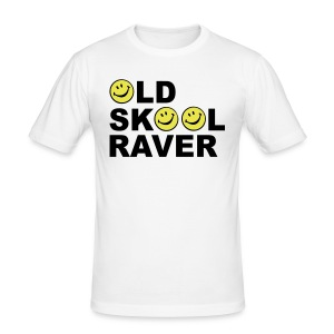 Old Skool rave T-shirt - Men's Slim Fit T-Shirt