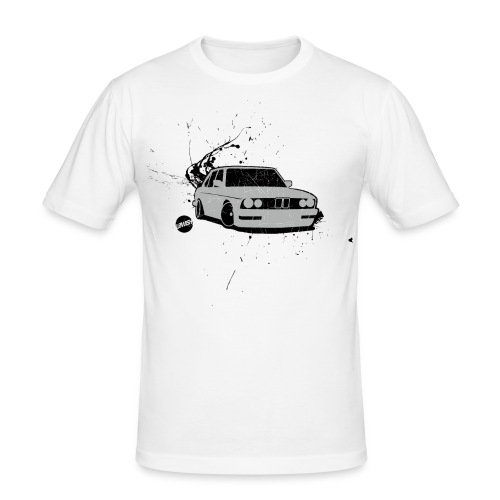 E28 I TEE · by LOWISH - Männer Slim Fit T-Shirt