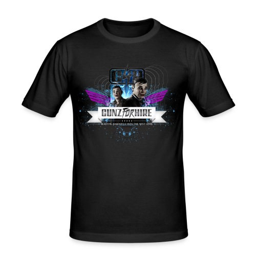 Gunz for hire shirt design - slim fit T-shirt