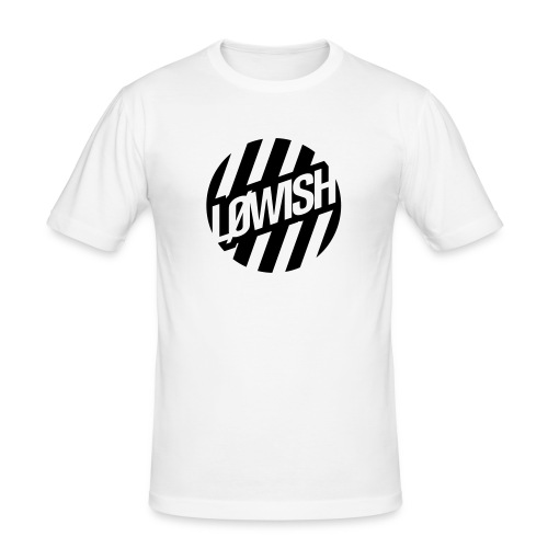 LOWISH LOGO TEE· by LOWISH - Männer Slim Fit T-Shirt