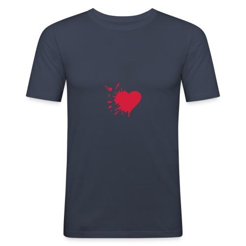Herzschmerz - Männer Slim Fit T-Shirt