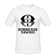 T-Shirts ~ Men's Slim Fit T-Shirt ~ Hurricane Bawbag HBB
