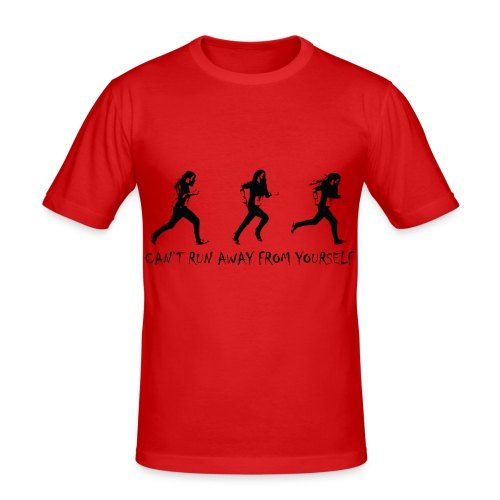 Running away - Slim Fit T-shirt herr
