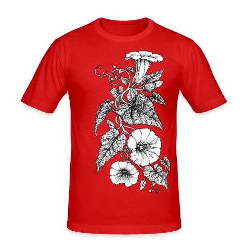 Bindweed - Men's Slim Fit T-Shirt