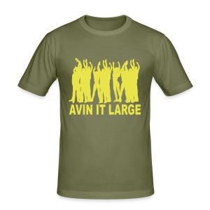 Avin it Large Ibiza t-shirt - Men's Slim Fit T-Shirt