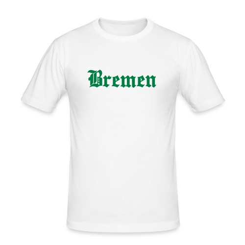 basic city bremen - Männer Slim Fit T-Shirt
