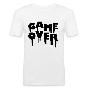 GAME OVER (Hihassa vkl) - Miesten tyköistuva t-paita