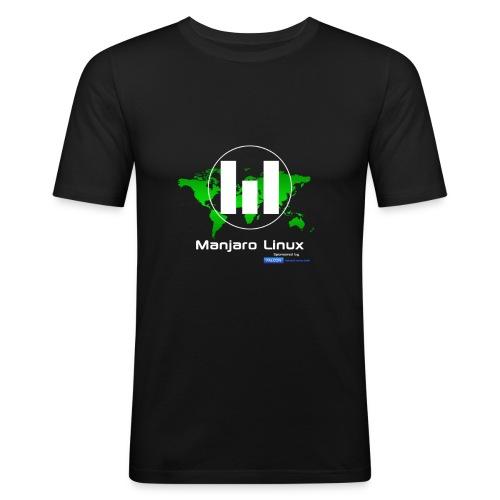 Manjaro Linux sponsor special - slim T-Shirt - Men's Slim Fit T-Shirt