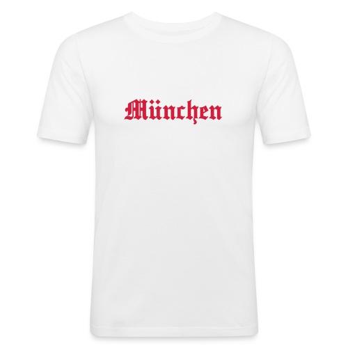 basic city münchen - Männer Slim Fit T-Shirt