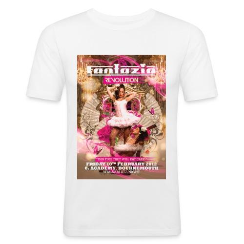 Fantazia Revolution Event Flyer T-shirt - Men's Slim Fit T-Shirt