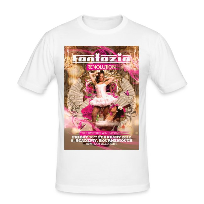 Fantazia Revolution Event Flyer T-shirt