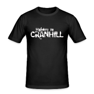 T-Shirts ~ Men's Slim Fit T-Shirt ~ Highway to Cranhill