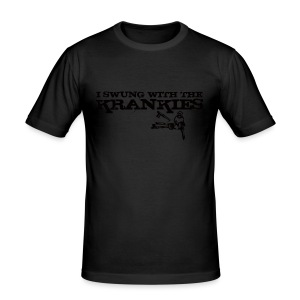 I Swung With The Krankies - Men's Slim Fit T-Shirt