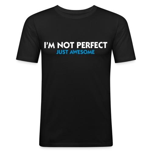 Serr !  - Slim Fit T-skjorte for menn