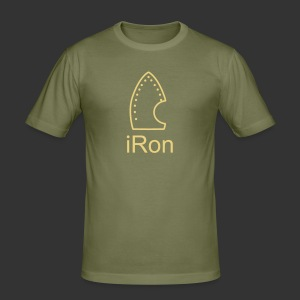 iRon - Männer Slim Fit T-Shirt