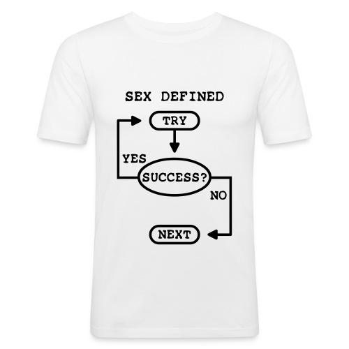 T-SHIRT UOMO - SEX DEFINED - Maglietta aderente da uomo