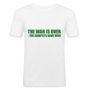 The War Is Over - Men's Slim Fit T-Shirt