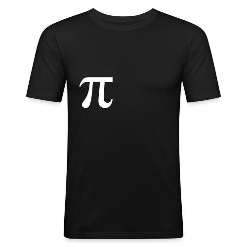 pi - Männer Slim Fit T-Shirt