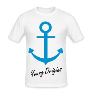 Young Origins Anchor Mens Tee - Men's Slim Fit T-Shirt