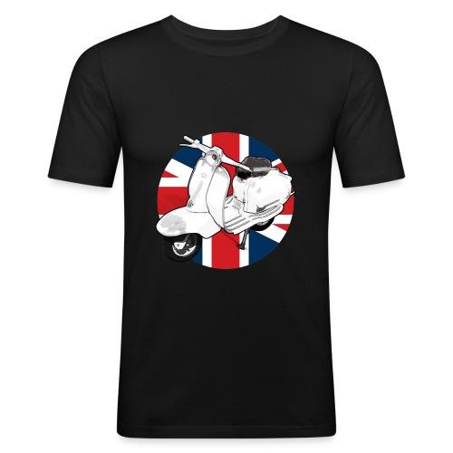 Mod Scooter Tee, choose your colour - Men's Slim Fit T-Shirt