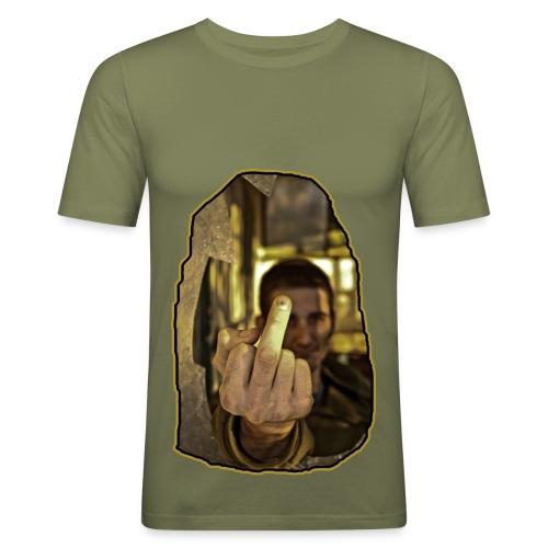 Photo fuck artistique - T-shirt près du corps Homme