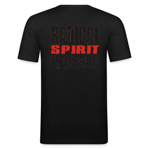 radical spirit skull - Camiseta ajustada hombre