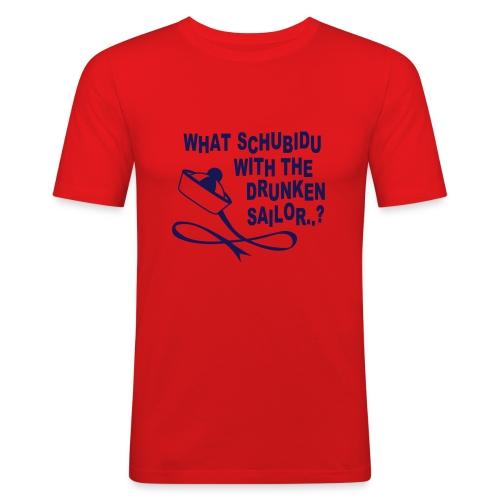 Schubidu - Männer Slim Fit T-Shirt