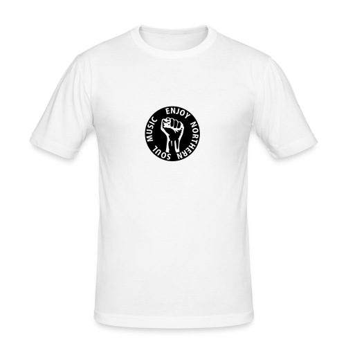 enjoy northern soul music - Männer Slim Fit T-Shirt