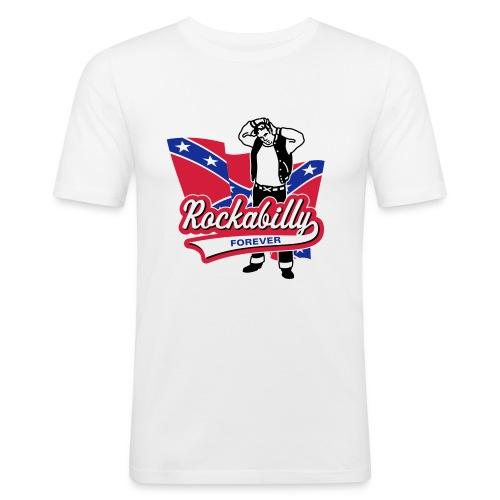 Rockabilly Forever - Männer Slim Fit T-Shirt