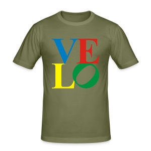 VELO LOVE - Männer Slim Fit T-Shirt