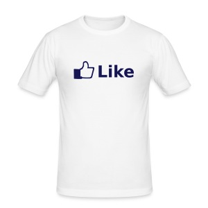 Facebook - Männer Slim Fit T-Shirt