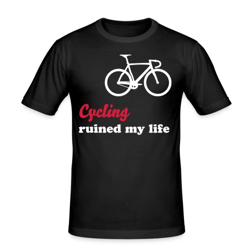 Cycling - Männer Slim Fit T-Shirt