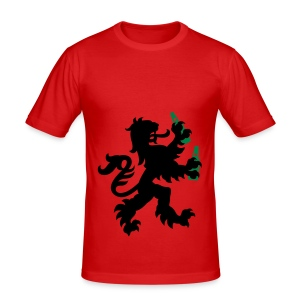 Hollandse pils leeuw - slim fit T-shirt