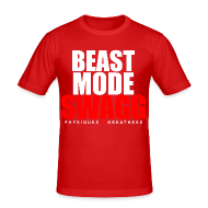 T-Shirts ~ Men's Slim Fit T-Shirt ~ Beast mode SWAGG