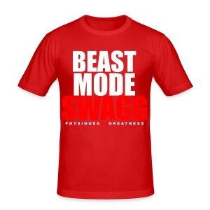 Beastmode SWAGG - Men's Slim Fit T-Shirt